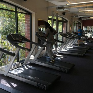 Treadmill gym