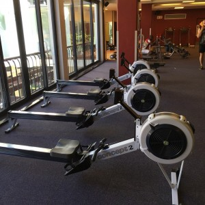 rowing machine gym
